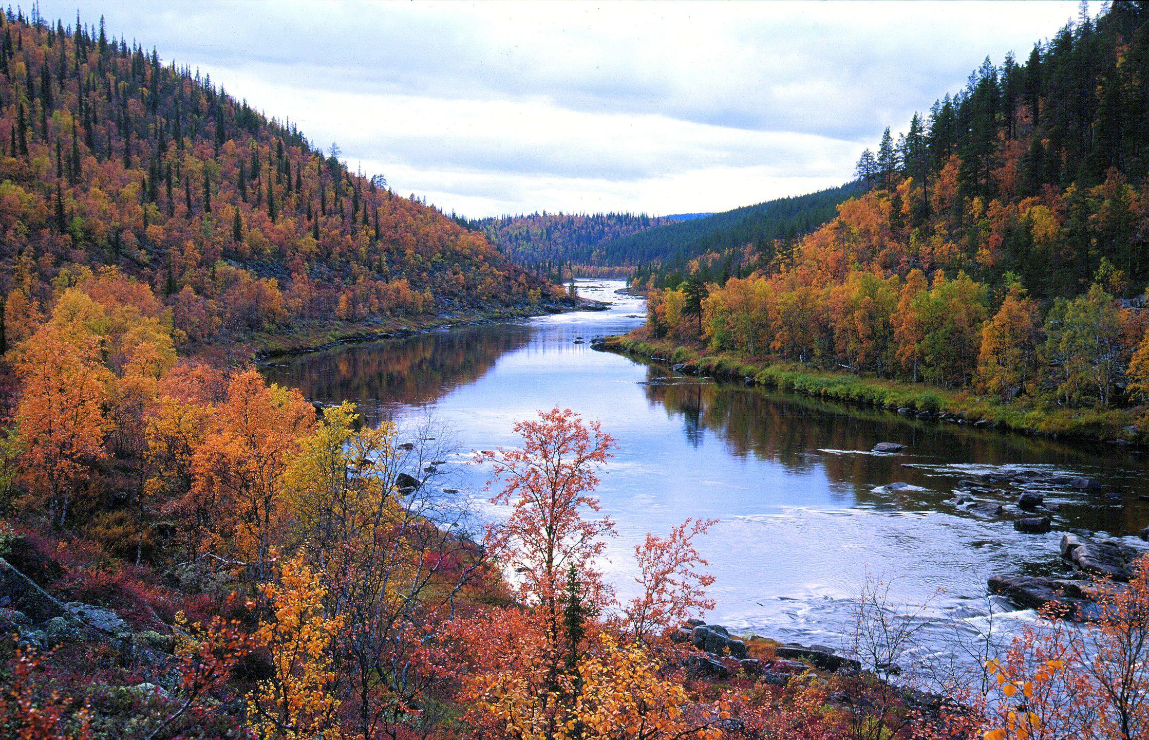 Фото Финляндии осенью